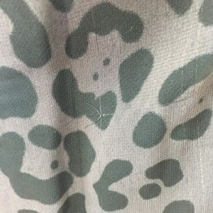 Lush Tops - Lush Black Leopard Print Sleeveless Tunic Top SS08